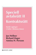 Speciell Avtalsrätt Ii - Kontraktsrätt, Andra Häftet - Allmänna Ämnen