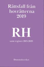 Rättsfall Från Hovrätterna. Årsbok 2019 (rh)