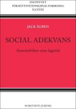 Social Adekvans - Ansvarsfrihet Utan Lagstöd