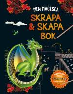 Min Magiska Skrapa- Och Skapabok (drake)