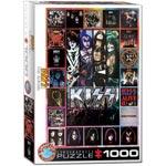 Pussel / Kiss The albums 1000 pcs