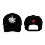 Ozzy Osbourne: Unisex Baseball Cap/Crest
