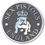 The Sex Pistols: Pin Badge/Bull Dog