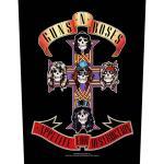 Guns N` Roses: Back Patch/Appetite For Destruction