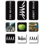 The Beatles: Fridge Magnet Set/Abbey Road