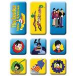 The Beatles: Fridge Magnet Set/Yellow Submarine