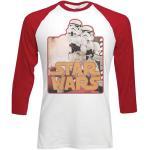 Star Wars: Unisex Raglan Tee/Storm Troopers (Medium)