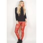 Avenged Sevenfold: Ladies Fashion Leggings/Death Bat (Large to X-Large)