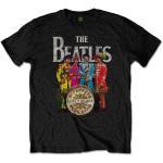 The Beatles: Unisex T-Shirt/Sgt Pepper (Small)