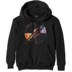 Pink Floyd: Unisex Pullover Hoodie/Machine Greeting Orange (X-Large)