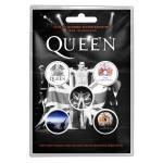 Queen: Button Badge Pack/Freddie (Retail Pack)