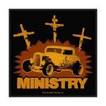 Ministry: Standard Patch/Jesus Built My Hotrod (Loose)