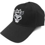 Five Finger Death Punch: Unisex Baseball Cap/Logo (Sonic Silver)