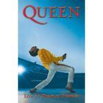 Queen: Textile Poster/Wembley
