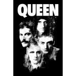 Queen: Textile Poster/Faces