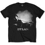 Bob Dylan: Unisex Tee/Guitar & Logo (Medium)