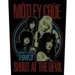 Mötley Crue: Back Patch/Shout at the Devil