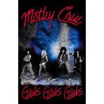 Mötley Crue: Textile Poster/Girls Girls Girls