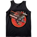Judas Priest: Ladies Vest Tee/Vengeance with Glitter Print Application (Large)