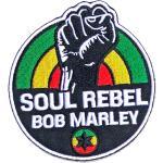 Bob Marley: Standard Patch/Soul Rebel