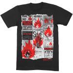 Stiff Little Fingers: Unisex T-Shirt/Flyer (Medium)