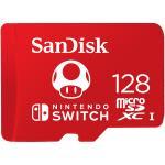 SANDISK MicroSDXC Nintendo Switch 128GB UHS-I,100/90