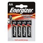 Energizer Alkaliska Batterier AA 1.5 V Power 4-Blister