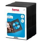 HAMA DVD-Box Svart 10-pack