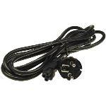 Kbl Nätkabel/apparatsladd elkabel/ATXx-power 3m (Musse Pigg-kontakt, för bärbara)
