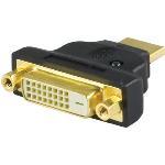 HDMI-adapter, HDMI 19-pinhane till DVI-D hona