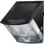 Brennenstuhl Solar Vägglampa 2 Lysdioder Svart