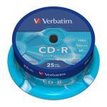 VERBATIM CD-R 52x 700MB 25-pack Spindel