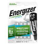 Energizer Laddningsbara NiMH-batteri AAA 1.2 V Extreme 800 mAh 4-Blister