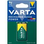 Varta Laddningsbara NiMH-batteri E-Block 9 V 200 mAh 1-Blister