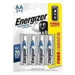 Energizer Litiumbatteri AA 1.5 V Ultimate 4-PR Blister