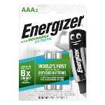 Energizer Laddningsbara NiMH-batteri AAA 1.2 V Extreme 800 mAh 2-Blister