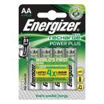 ENERGIZER Batteri AA/LR6 Laddbart Ni-Mh 2000mAh 4-pack