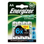 ENERGIZER Batteri AA/LR6 Laddbart Ni-Mh 2300mAh 4-pack