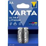 Varta Litiumbatteri AA 2-Blister Card