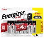 Energizer Alkaliska Batterier AA 1.5 V Max 12-Blister