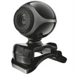 Trust Exis Webcam - Svart/Silver