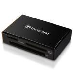 Transcend Multiläsare F8 USB 3.0 Svart