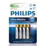 Philips Ultra Alkaline AAA 4-pack
