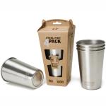 Klean Kanteen 473ml Pint Cup 4-pack