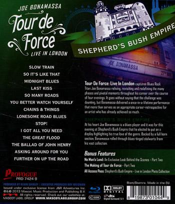 Tour De Force / Shepherd's Bush
