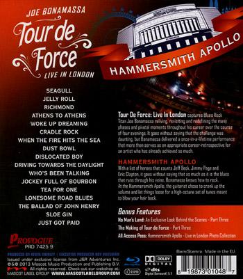 Tour De Force / Hammersmith