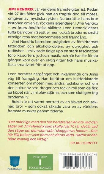 Jimi Hendrix - En Brors Berättelse