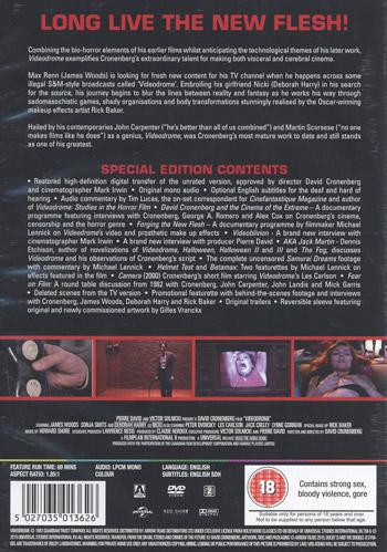 Videodrome (Ej svensk text)