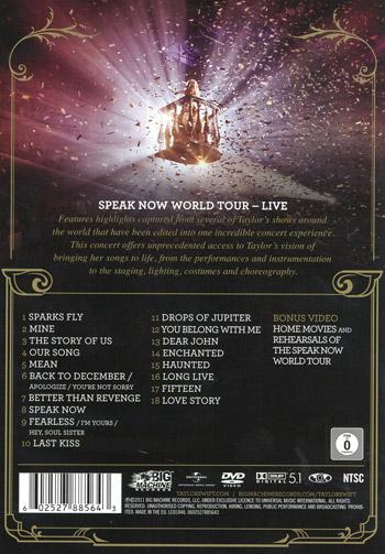Speak now / World tour live