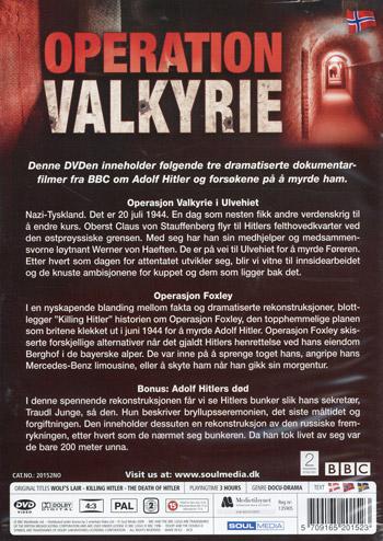 Operation Valkyrie (Norskt omslag)
